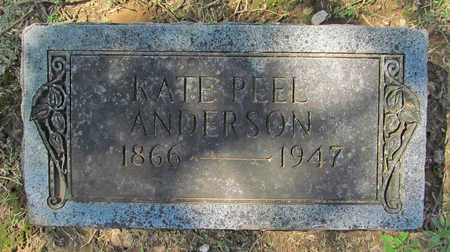 PEEL ANDERSON, KATE - Benton County, Arkansas | KATE PEEL ANDERSON - Arkansas Gravestone Photos