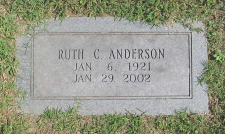 ANDERSON, RUTH C. - Benton County, Arkansas | RUTH C. ANDERSON - Arkansas Gravestone Photos