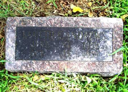 ANDREWS, KENETH E. - Benton County, Arkansas | KENETH E. ANDREWS - Arkansas Gravestone Photos