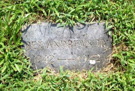 ANDREWS, REX JR. - Benton County, Arkansas | REX JR. ANDREWS - Arkansas Gravestone Photos