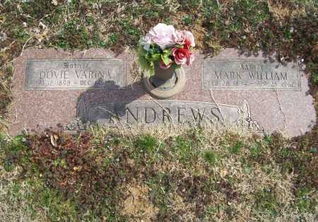 ANDREWS, MARK WILLIAM - Benton County, Arkansas | MARK WILLIAM ANDREWS - Arkansas Gravestone Photos