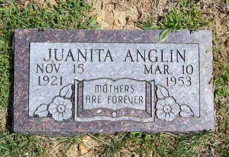 ANGLIN, JUANITA - Benton County, Arkansas | JUANITA ANGLIN - Arkansas Gravestone Photos