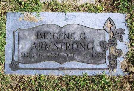 ARMSTRONG, IMOGENE G. - Benton County, Arkansas | IMOGENE G. ARMSTRONG - Arkansas Gravestone Photos