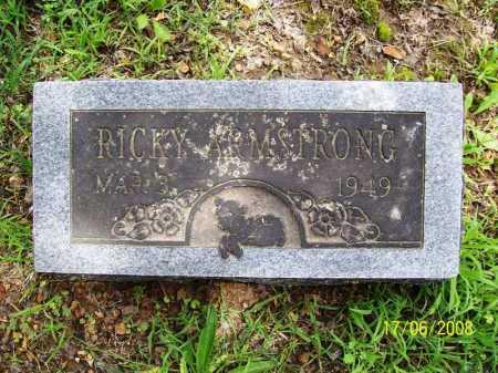 ARMSTRONG, RICKY - Benton County, Arkansas | RICKY ARMSTRONG - Arkansas Gravestone Photos