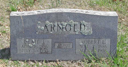 ARNOLD, LEAH J - Benton County, Arkansas | LEAH J ARNOLD - Arkansas Gravestone Photos