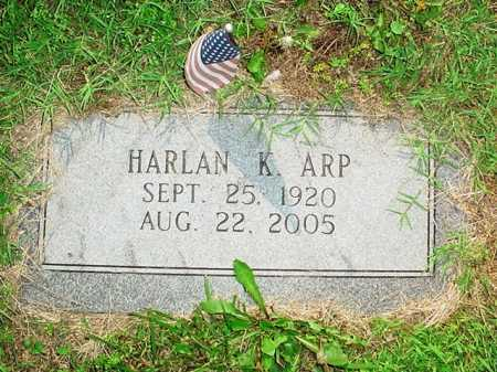 ARP, HARLAN K. - Benton County, Arkansas | HARLAN K. ARP - Arkansas Gravestone Photos