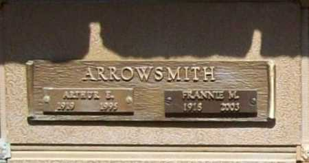 ARROWSMITH, FRANNIE M. - Benton County, Arkansas | FRANNIE M. ARROWSMITH - Arkansas Gravestone Photos