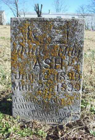 ASH, ANNIE MAY - Benton County, Arkansas | ANNIE MAY ASH - Arkansas Gravestone Photos