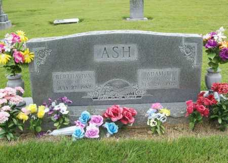 ASH, BERTHA IVA - Benton County, Arkansas | BERTHA IVA ASH - Arkansas Gravestone Photos