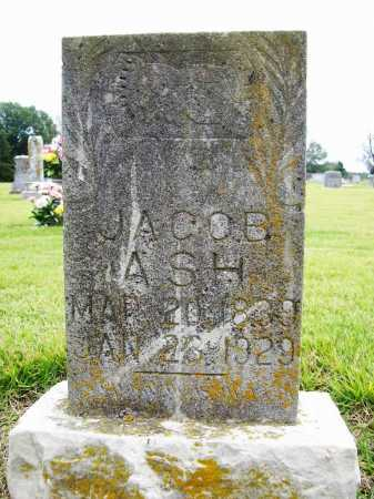 ASH, JACOB - Benton County, Arkansas | JACOB ASH - Arkansas Gravestone Photos