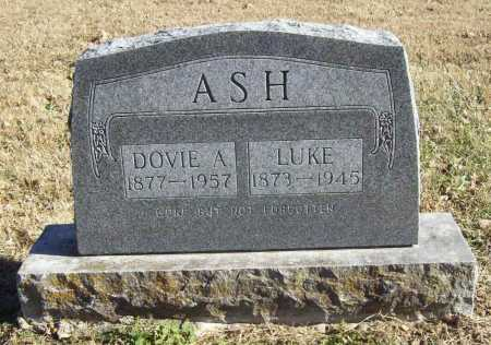 ASH, LUKE - Benton County, Arkansas | LUKE ASH - Arkansas Gravestone Photos