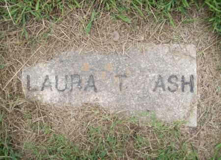 ASH, LAURA T. - Benton County, Arkansas | LAURA T. ASH - Arkansas Gravestone Photos