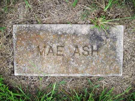 ASH, MAE - Benton County, Arkansas | MAE ASH - Arkansas Gravestone Photos