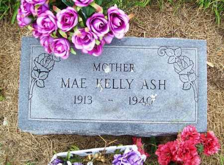 KELLY ASH, MAE - Benton County, Arkansas | MAE KELLY ASH - Arkansas Gravestone Photos