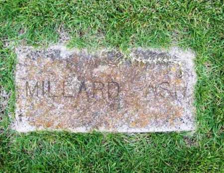 ASH, MILLARD - Benton County, Arkansas | MILLARD ASH - Arkansas Gravestone Photos