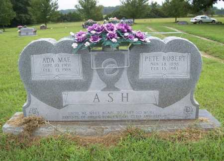 ASH, PETE ROBERT - Benton County, Arkansas | PETE ROBERT ASH - Arkansas Gravestone Photos