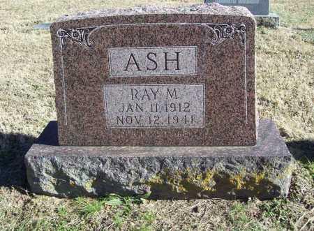 ASH, RAY M. - Benton County, Arkansas | RAY M. ASH - Arkansas Gravestone Photos