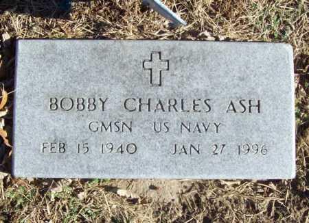 ASH (VETERAN), BOBBY CHARLES - Benton County, Arkansas | BOBBY CHARLES ASH (VETERAN) - Arkansas Gravestone Photos