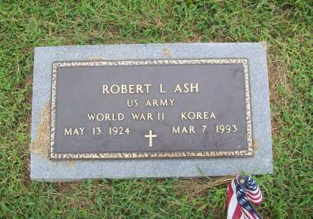 ASH (VETERAN 2 WARS), ROBERT LEE - Benton County, Arkansas | ROBERT LEE ASH (VETERAN 2 WARS) - Arkansas Gravestone Photos