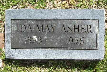 ASHER, IDA MAY - Benton County, Arkansas | IDA MAY ASHER - Arkansas Gravestone Photos