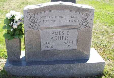ASHER, JAMES E. - Benton County, Arkansas | JAMES E. ASHER - Arkansas Gravestone Photos