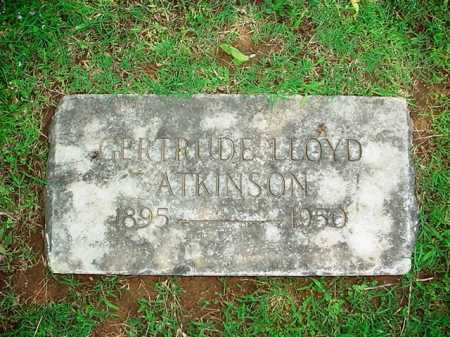 ATKINSON, GERTRUDE - Benton County, Arkansas | GERTRUDE ATKINSON - Arkansas Gravestone Photos
