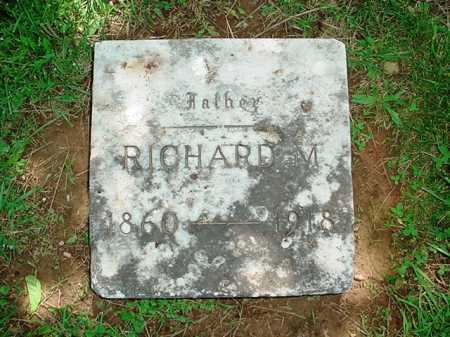 ATKINSON, RICHARD M - Benton County, Arkansas | RICHARD M ATKINSON - Arkansas Gravestone Photos