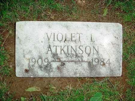ATKINSON, VIOLET L. - Benton County, Arkansas | VIOLET L. ATKINSON - Arkansas Gravestone Photos