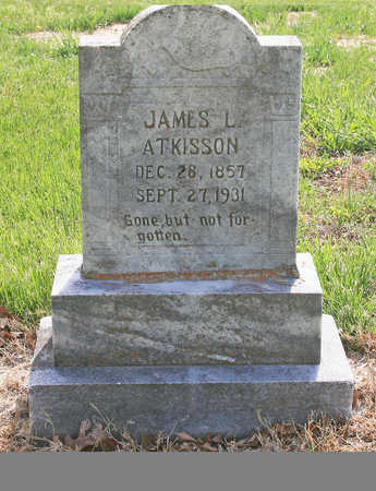 ATKISSON, JAMES L - Benton County, Arkansas | JAMES L ATKISSON - Arkansas Gravestone Photos