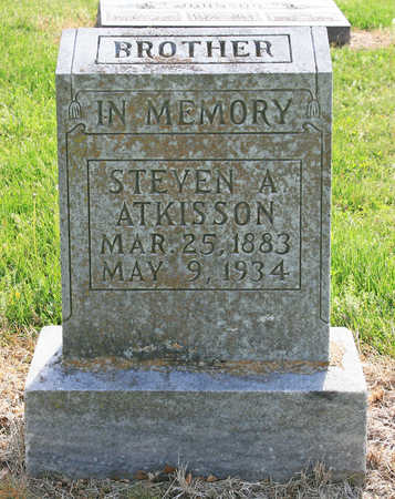 ATKISSON, STEVEN A - Benton County, Arkansas | STEVEN A ATKISSON - Arkansas Gravestone Photos