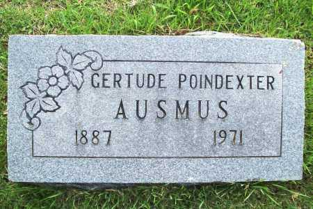POINDEXTER AUSMUS, GERTRUDE - Benton County, Arkansas | GERTRUDE POINDEXTER AUSMUS - Arkansas Gravestone Photos