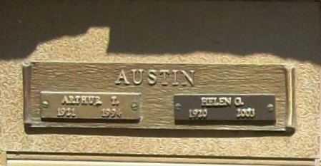 AUSTIN, ARTHUR T. - Benton County, Arkansas | ARTHUR T. AUSTIN - Arkansas Gravestone Photos