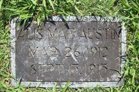 AUSTIN, ALIS MAE - Benton County, Arkansas | ALIS MAE AUSTIN - Arkansas Gravestone Photos