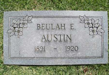 AUSTIN, BEULAH EDNA - Benton County, Arkansas | BEULAH EDNA AUSTIN - Arkansas Gravestone Photos