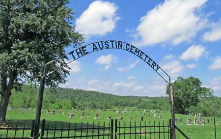 *AUSTIN CEMETERY GATE,  - Benton County, Arkansas    *AUSTIN CEMETERY GATE - Arkansas Gravestone Photos