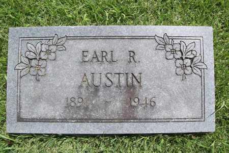 AUSTIN, EARL R. - Benton County, Arkansas | EARL R. AUSTIN - Arkansas Gravestone Photos