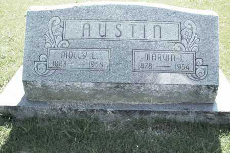 AUSTIN, MOLLY L. - Benton County, Arkansas | MOLLY L. AUSTIN - Arkansas Gravestone Photos