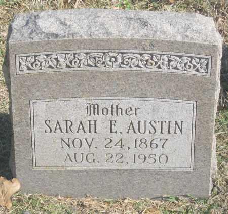 AUSTIN, SARAH E. - Benton County, Arkansas | SARAH E. AUSTIN - Arkansas Gravestone Photos