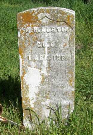 AUSTIN (VETERAN UNION), W H - Benton County, Arkansas | W H AUSTIN (VETERAN UNION) - Arkansas Gravestone Photos