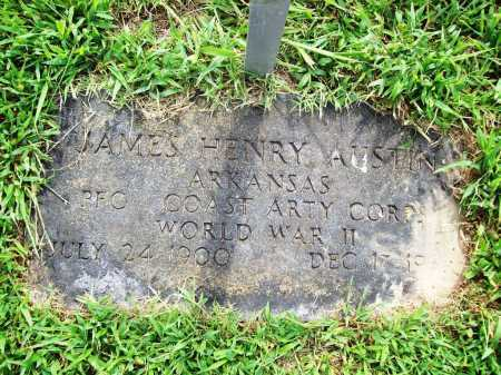 AUSTIN (VETERAN WWII), JAMES HENRY - Benton County, Arkansas | JAMES HENRY AUSTIN (VETERAN WWII) - Arkansas Gravestone Photos