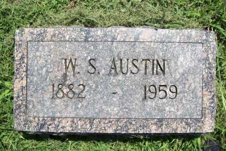 AUSTIN, W. S. - Benton County, Arkansas | W. S. AUSTIN - Arkansas Gravestone Photos