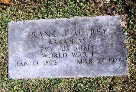 AUTREY (VETERAN WWI), FRANK JAMES - Benton County, Arkansas | FRANK JAMES AUTREY (VETERAN WWI) - Arkansas Gravestone Photos