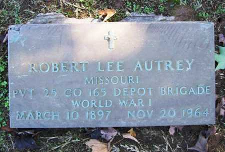 AUTREY (VETERAN WWI), ROBERT LEE - Benton County, Arkansas | ROBERT LEE AUTREY (VETERAN WWI) - Arkansas Gravestone Photos