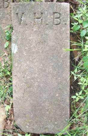 B., V. H. - Benton County, Arkansas | V. H. B. - Arkansas Gravestone Photos