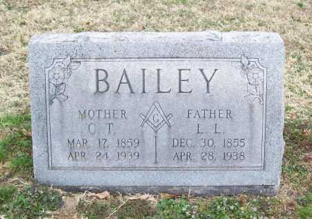 BAILEY, C. T. - Benton County, Arkansas | C. T. BAILEY - Arkansas Gravestone Photos