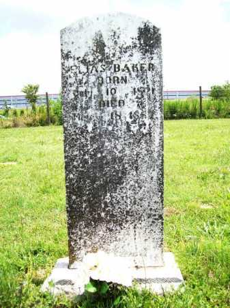 BAKER, ELIAS - Benton County, Arkansas | ELIAS BAKER - Arkansas Gravestone Photos