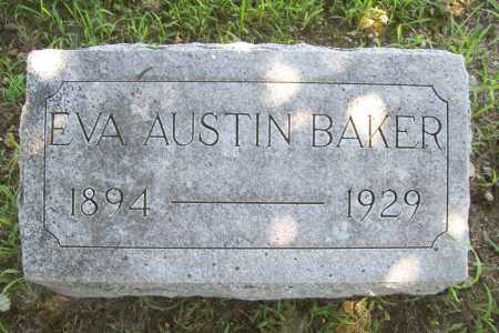 BAKER, EVA - Benton County, Arkansas | EVA BAKER - Arkansas Gravestone Photos