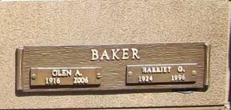 BAKER (VETERAN WWII), GLEN ALMAS - Benton County, Arkansas | GLEN ALMAS BAKER (VETERAN WWII) - Arkansas Gravestone Photos