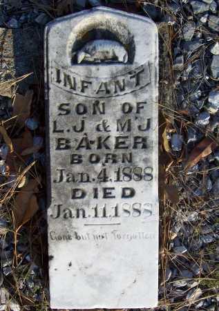 BAKER, INFANT SON - Benton County, Arkansas | INFANT SON BAKER - Arkansas Gravestone Photos