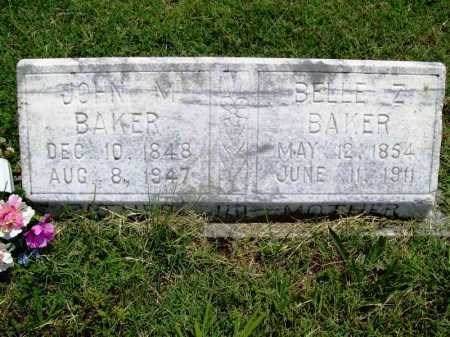 BAKER, JOHN M. - Benton County, Arkansas | JOHN M. BAKER - Arkansas Gravestone Photos